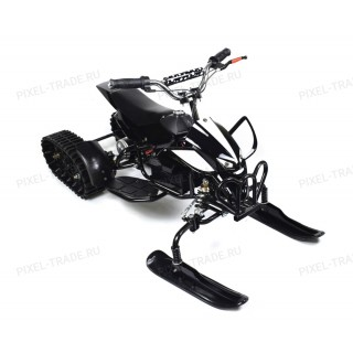ML-50 Snow 3 в 1 (детский вездеход-квадроцикл-снегоход) Черный