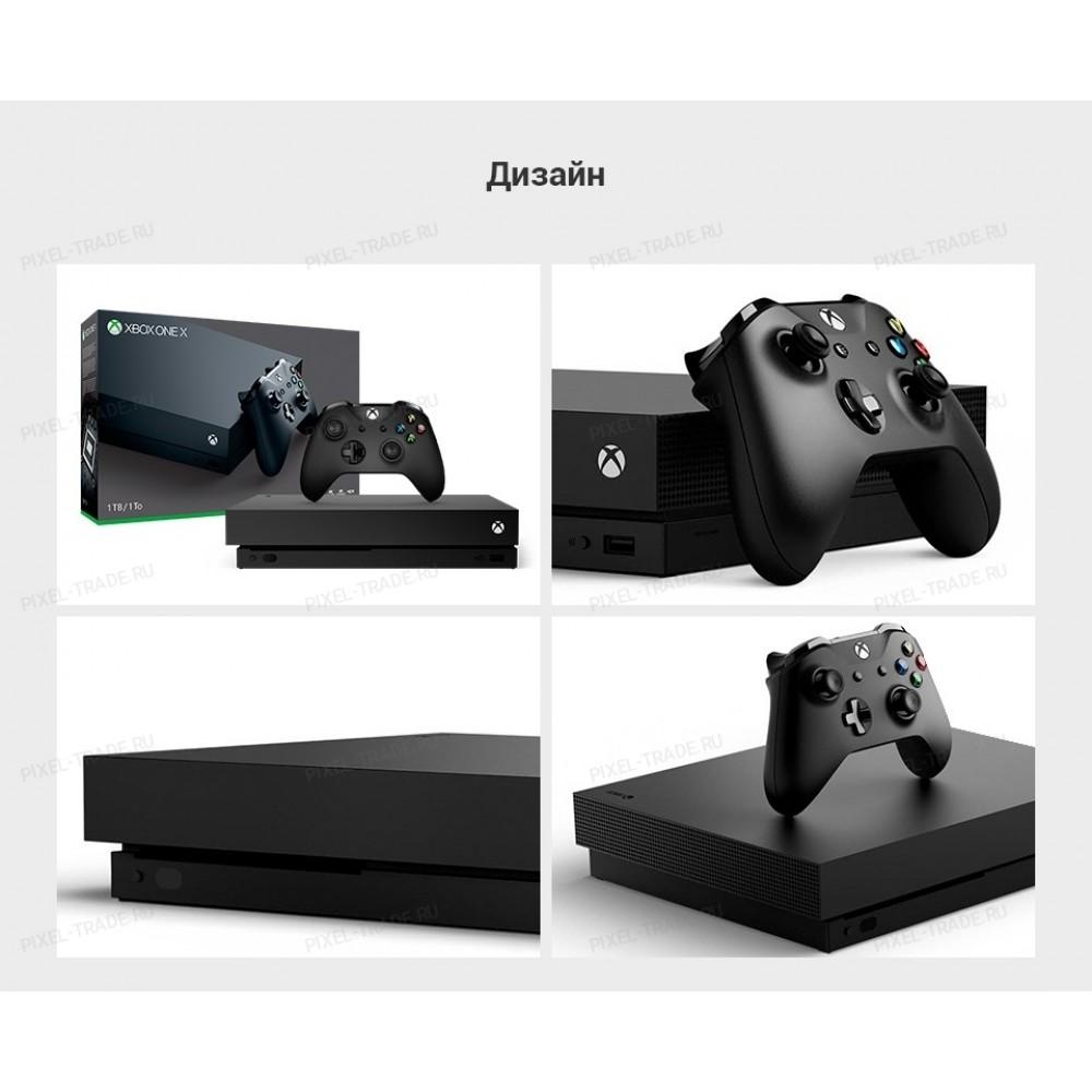 Microsoft Xbox One X 1 ТБ +  Battlefield 1 +  Battlefield 5