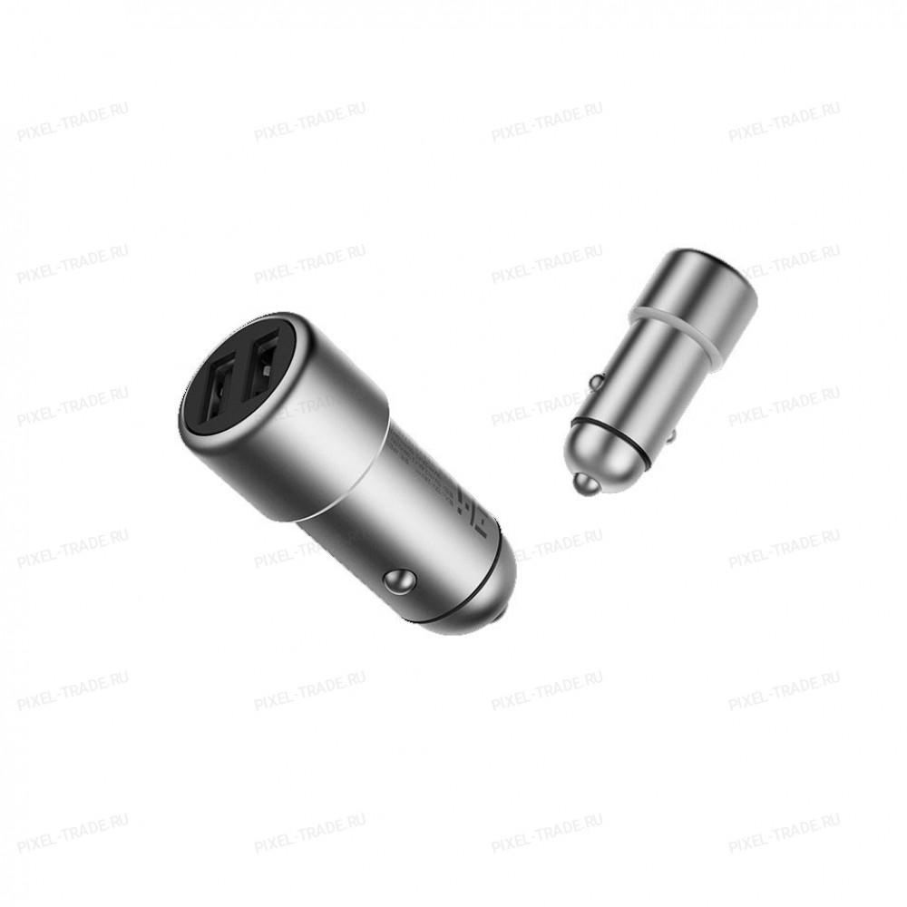 Автомобильное ЗарядноеУстройство Xiaomi ZMI Metal Car Charger 2USB 3,6A (AP821)