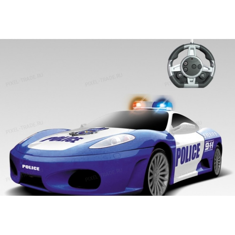 Радиоуправляемый конструктор - автомобили Ferrari Полиция MYX 2028-1JA