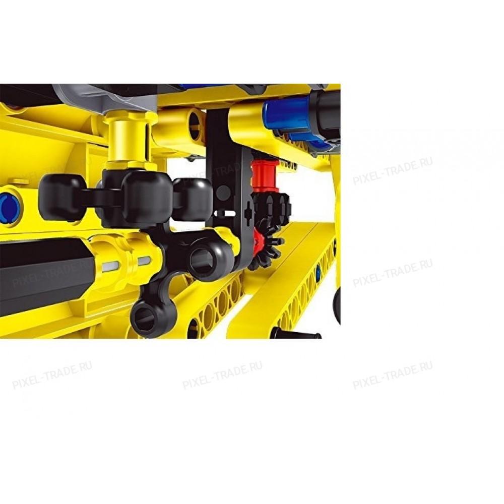 Конструктор 2 в 1 (самосвал и самолет) QiHui Technics 361 деталь QiHui QH6802