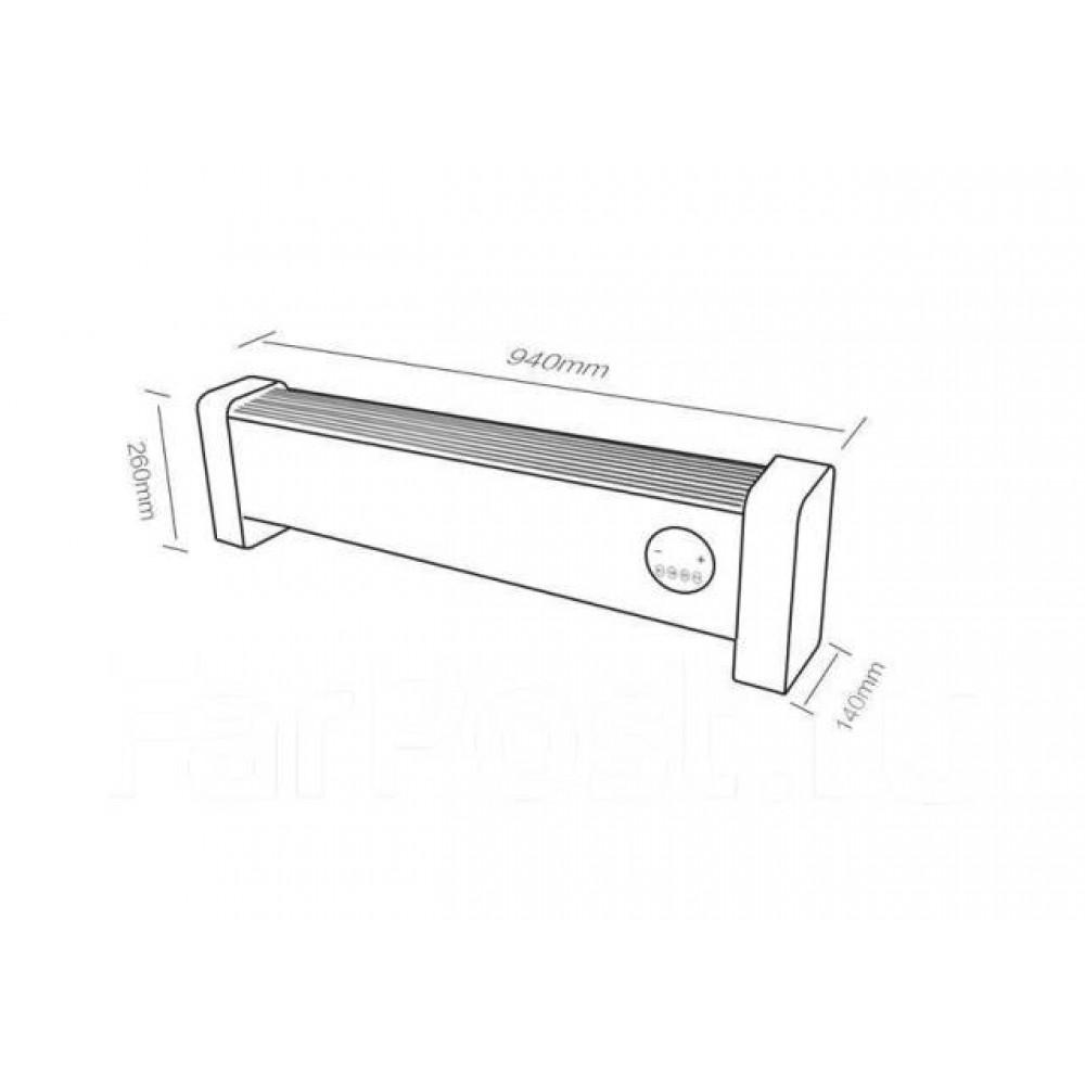 Oбогреватель конвекторный Xiaomi Viomi 2000w