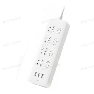 Удлинитель Xiaomi Power Strip (4 розетки + 3 USB)