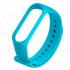 Сменный браслет Xiaomi Mi Band 3 ребристый (Голубой)
