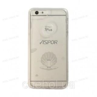 Накладка силиконовая Aspor Ice Collection Anty Shock для телефонов iPhone.