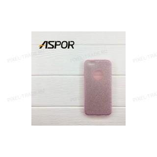 Накладка силиконовая Aspor Mask Collection Monoton для телефонов iPhone.
