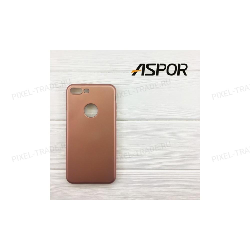 Накладка силиконовая Aspor Soft Touch Collection для телефонов iPhone.