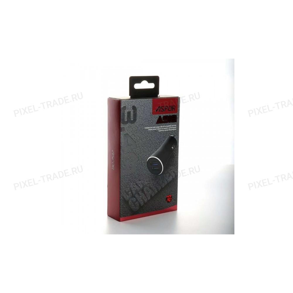 АЗУ Aspor A918 2USB/3.4A Metal.