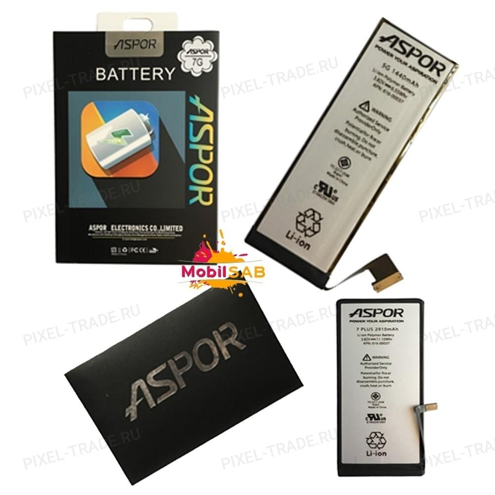 АКБ Aspor для телефонов iPhone, 100% оригинальная ёмкость, презентабельная упаковка.