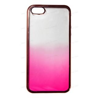Накладка силиконовая Aspor Golden Collection с отливом для телефонов iPhone.