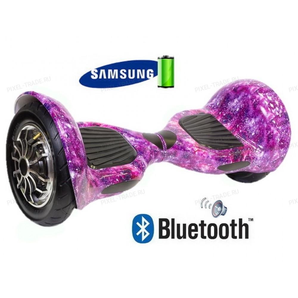 Smart Balance Wheel SUV 10 Сиреневая галактика + Самобаланс + Bluetooth
