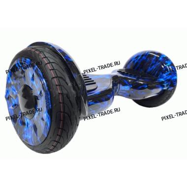Smart Balance PRO PREMIUM 10.5 V2  (Синее пламя) +Самобаланс +Bluetooth