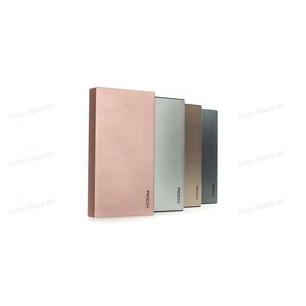 Внешний аккумулятор Power Bank Rock Stone 10000mAh (RMP0301) Gold