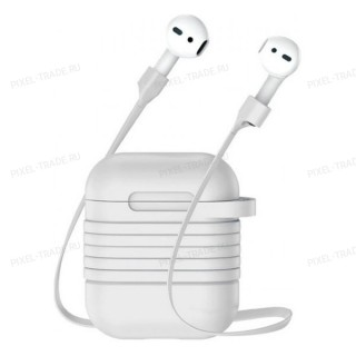 Чехол Baseus Silicone для Case for AirPods (White) TZARGS-G2