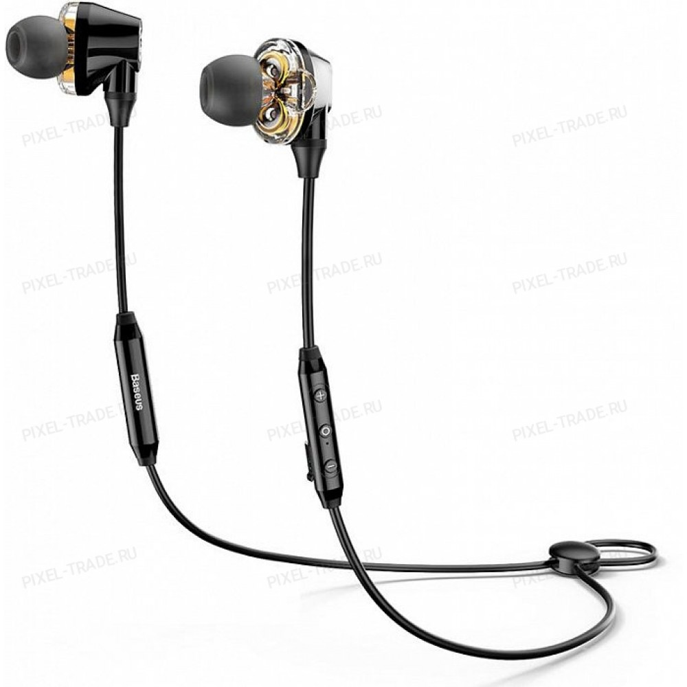Наушники Baseus Encok Dual Moving-coil Wireless Headset S10 (Black) NGS10-01