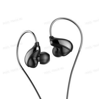Наушники Baseus Immersive virtual 3D game earphone (Black) NGH08-01