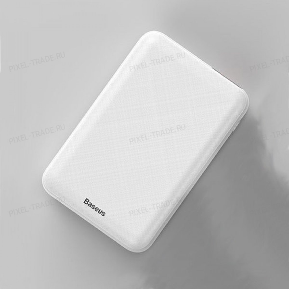 Внешний аккумулятор Baseus Mini S PD Edition 10000mAh (White) PPALL-XF02