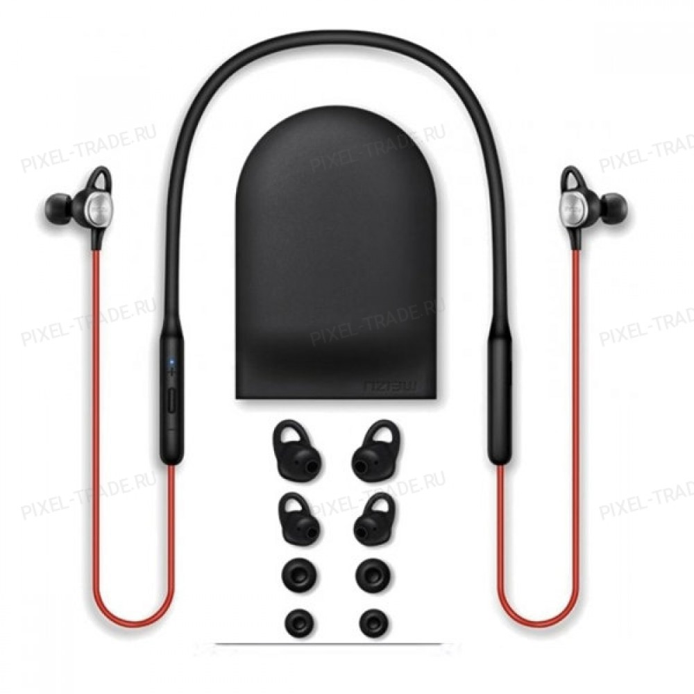 Беспроводные наушники Meizu EP-52 Sports Bluetooth Earhones Red-Black (Global)