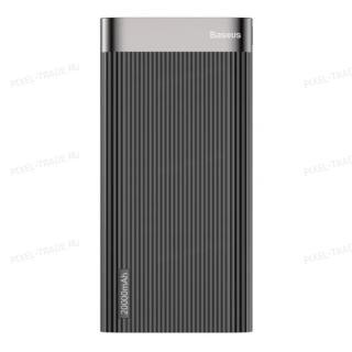 Внешний аккумулятор Baseus Parallel Type-C PD +QC3.0 power bank 20000mAh 18W (Black) PPALL-APX01