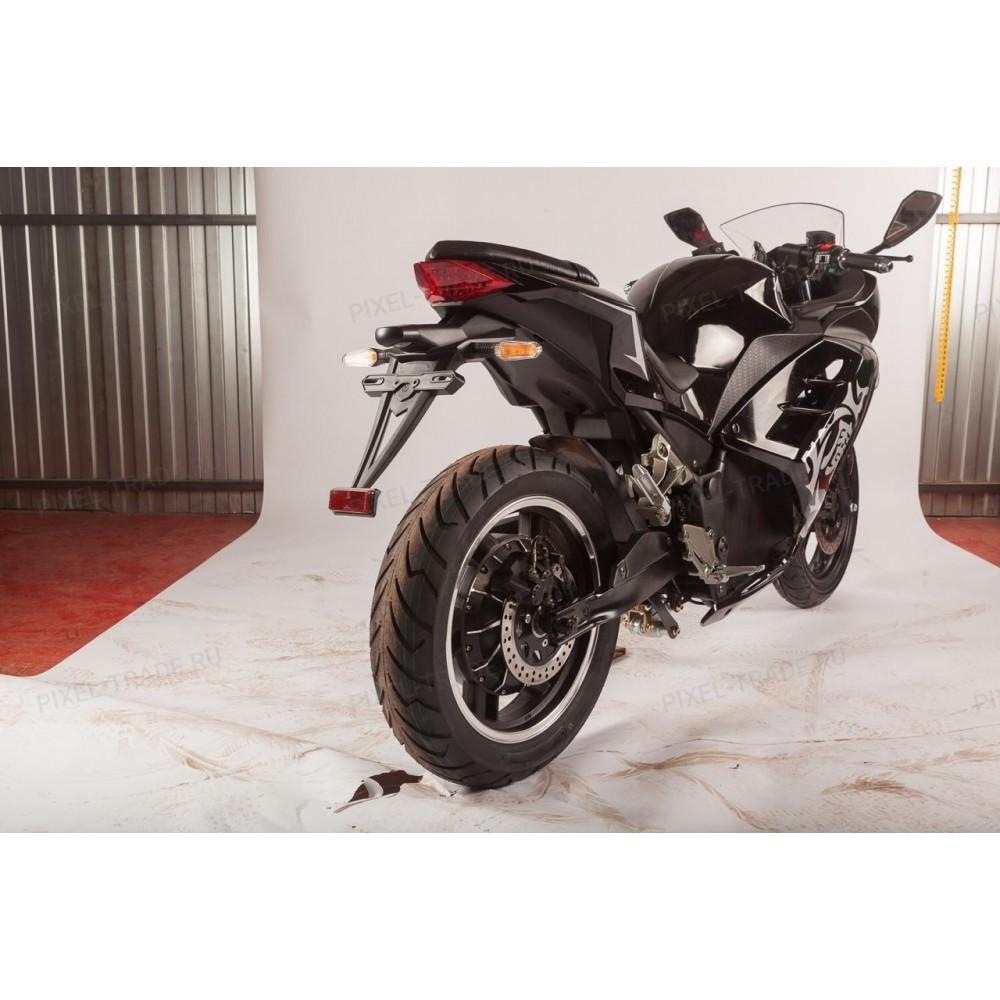 Электромотоцикл Moto Ninja 3000 Черный