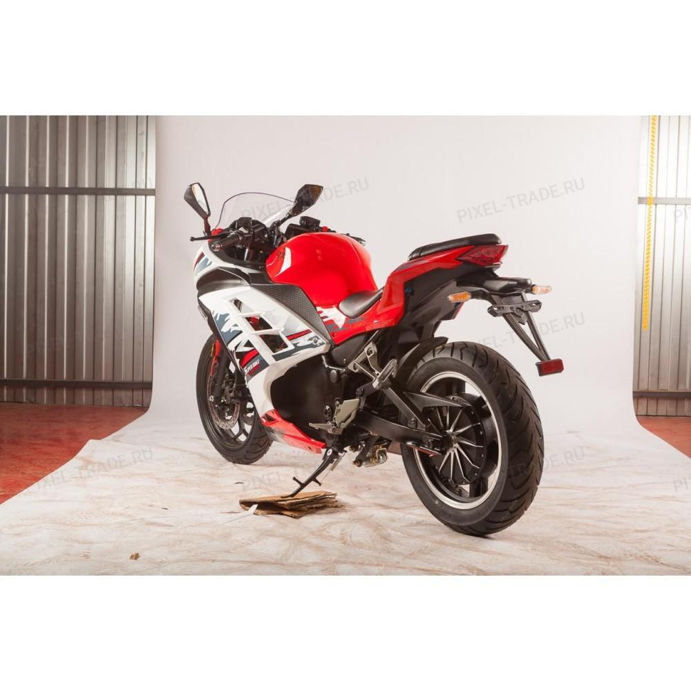 Электромотоцикл Moto Ninja 3000 Красная молния