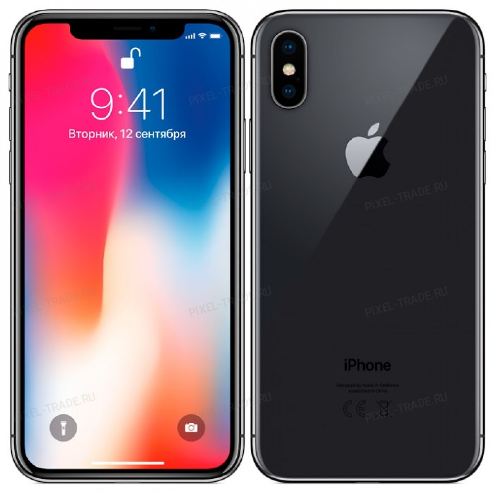 Apple iPhone X 256 Gb Gray (Серый)