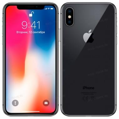 Apple iPhone X 64 Gb Gray (Серый)