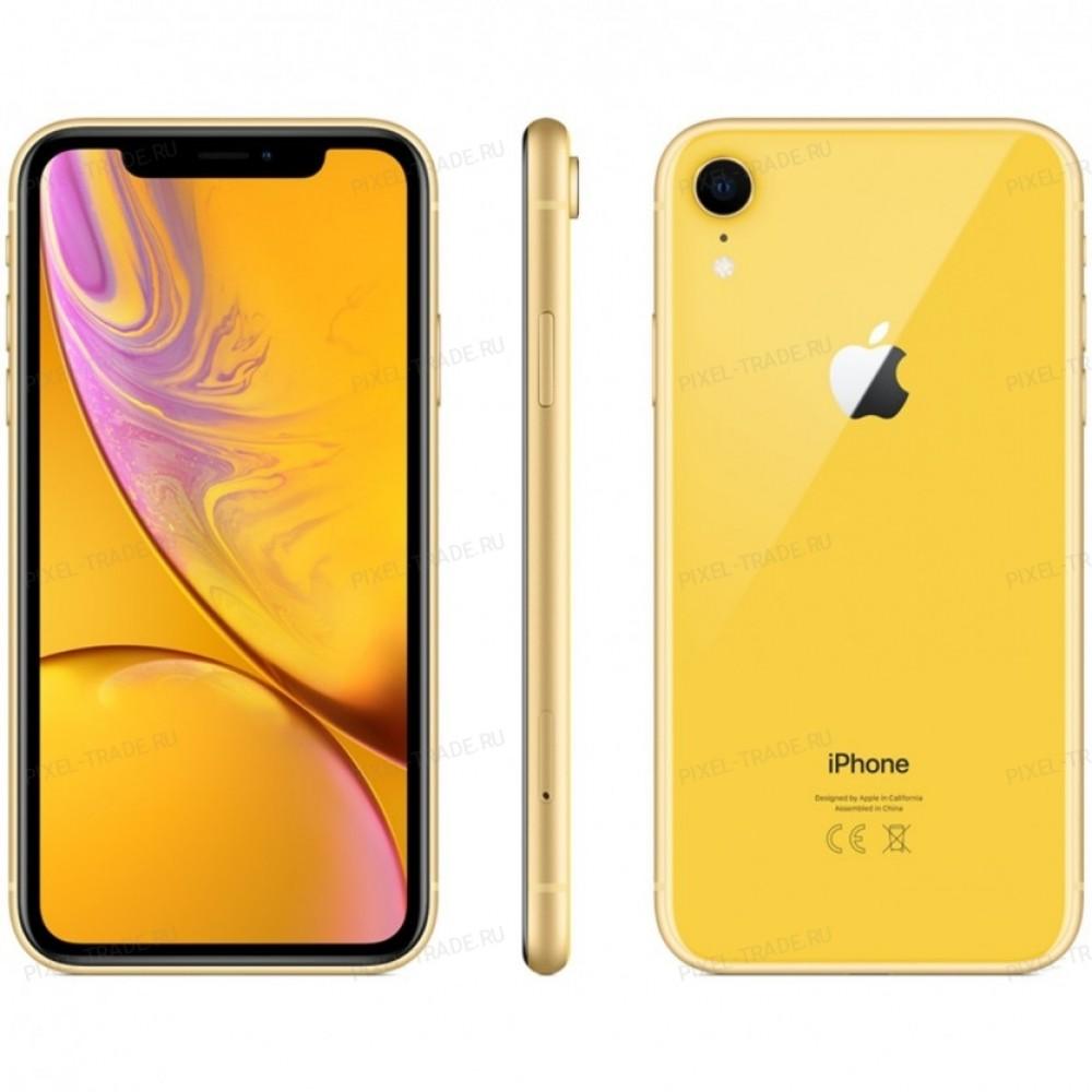 Apple iPhone Xr 64 Gb Yellow (Жёлтый)