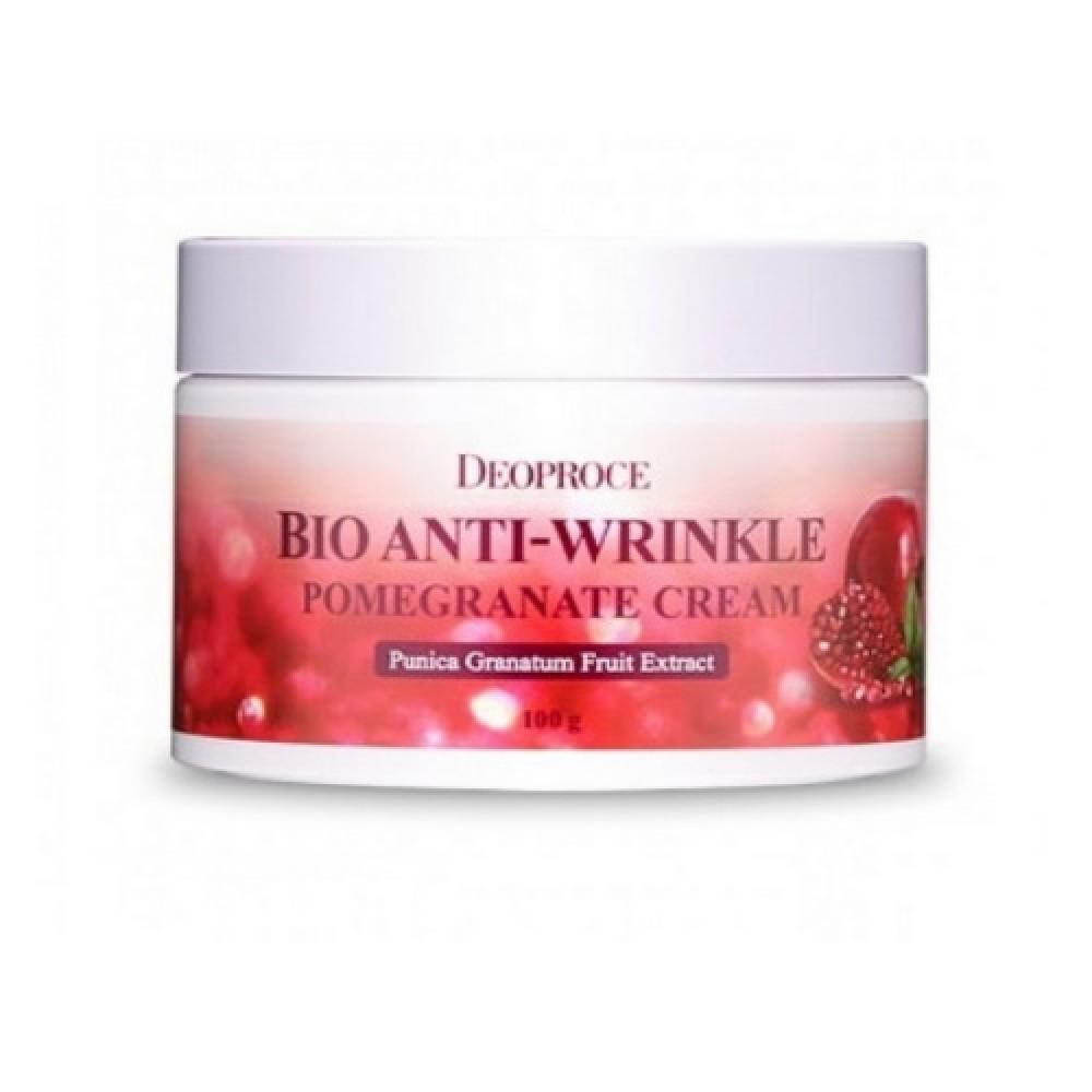 Deoproce Антивозрастной крем для лица Bio Anti-Wrinkle Pomegranate Cream, 100 мл