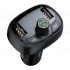 Автомобильная Зарядка T Typed 2-USB Bluetooth MP3 Car Charger (Standard Version) (Black) CCTM-01