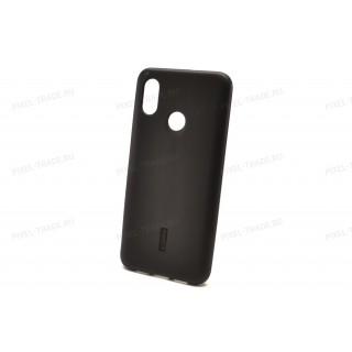 Силиконовая накладка Cherry для Xiaomi Mi8 (Черный)