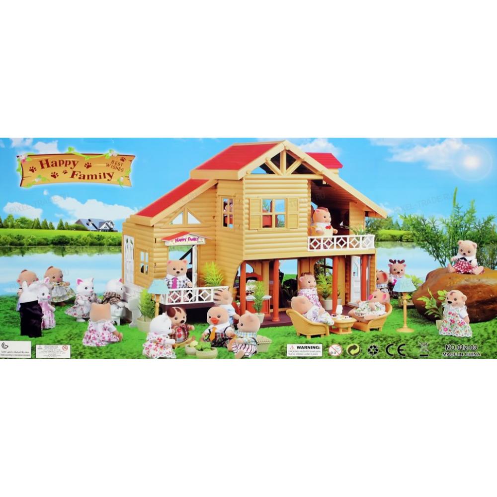 Happy Family Вилла загородная ( 1 зверек, 31 аксессуар)
