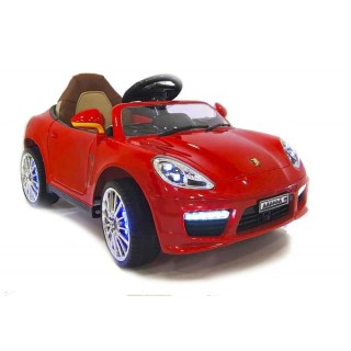 Электромобиль Porsche Panamera  A444AA VIP Красный