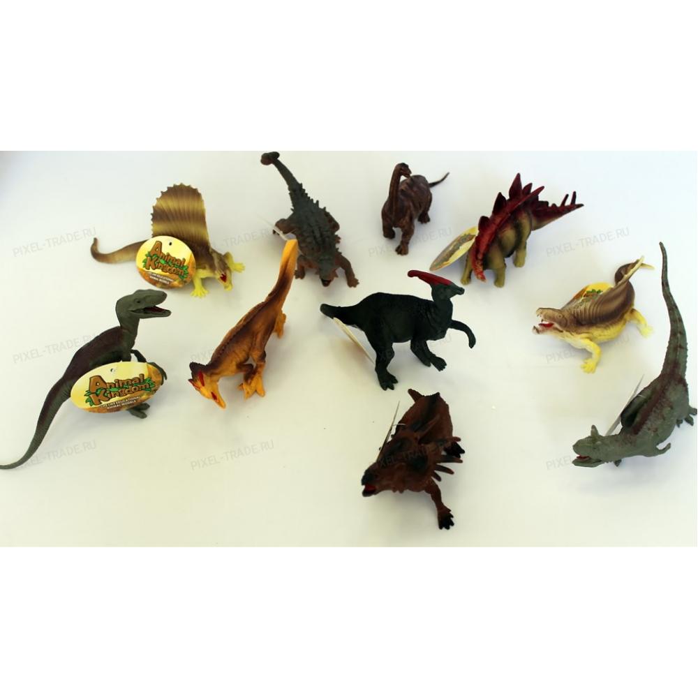 Фигурки динозавров 10 шт.