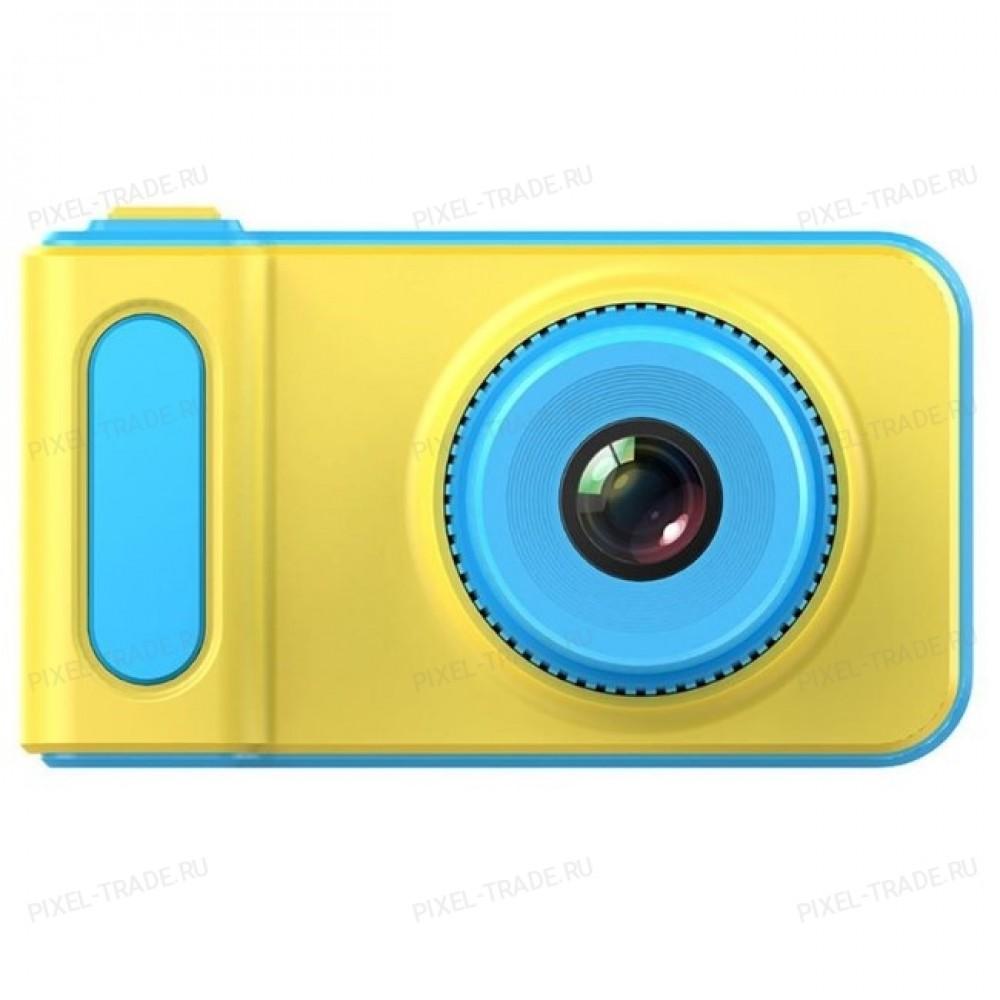 Детский цифровой мини фотоаппарат Photo Camera Kids Mini Digital Голубой