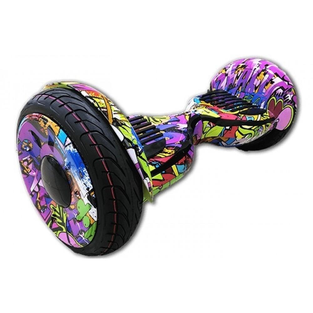 Гироскутер GT Smart Wheel 10,5 Фиолетовый хип-хоп