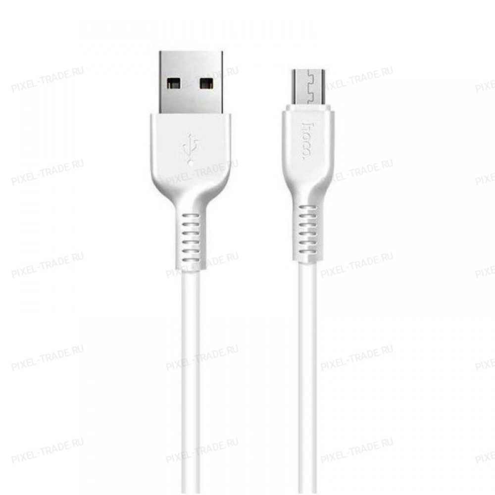Кабель HOCO X20 Forest Mystery Micro-USB (L=1M) White