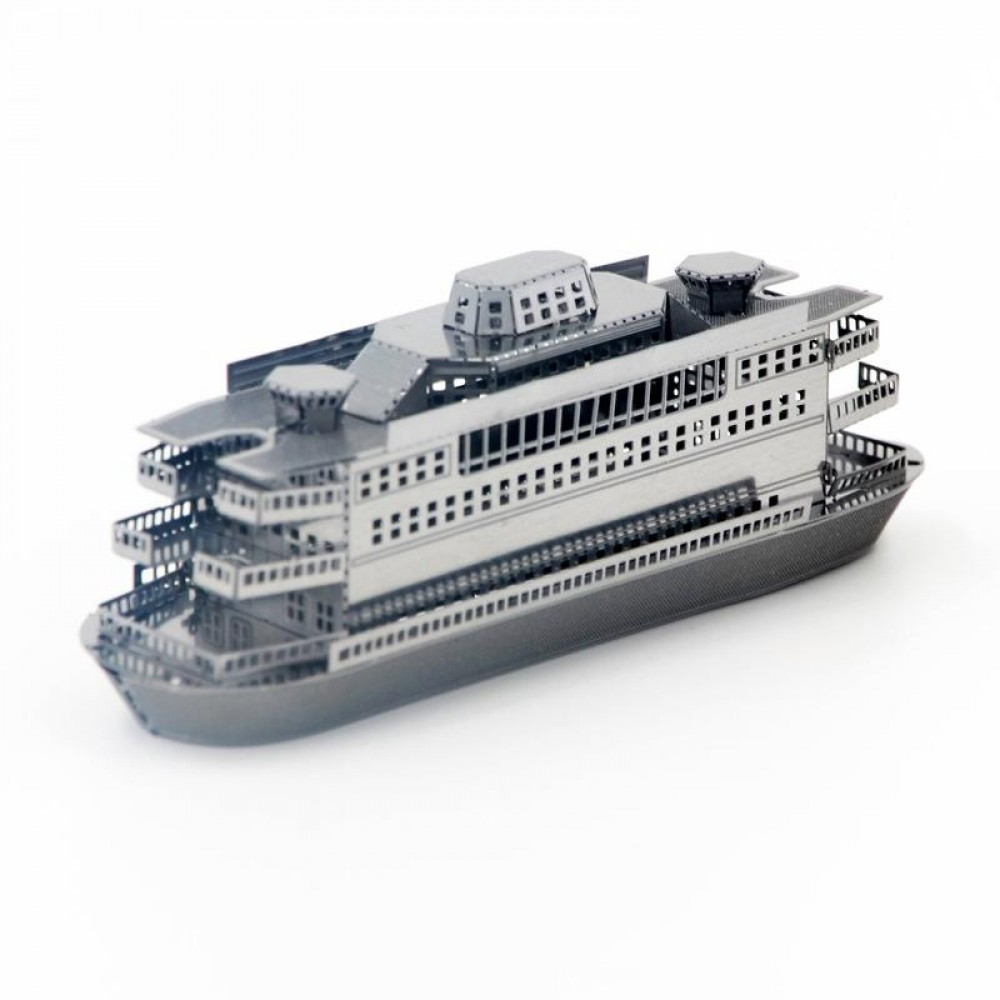 3D конструктор металлический Aipin Commuter Ferry
