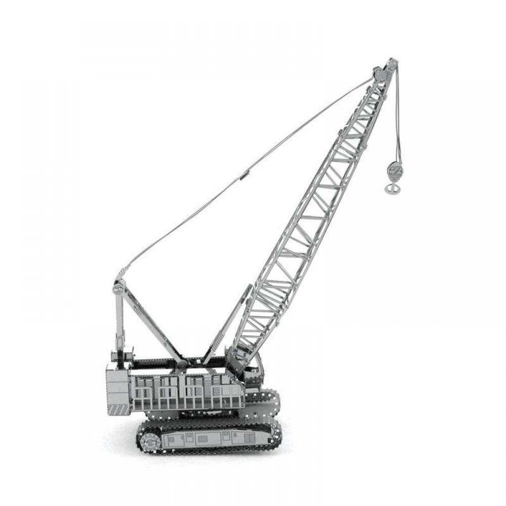 3D конструктор металлический Aipin Crawler Crane