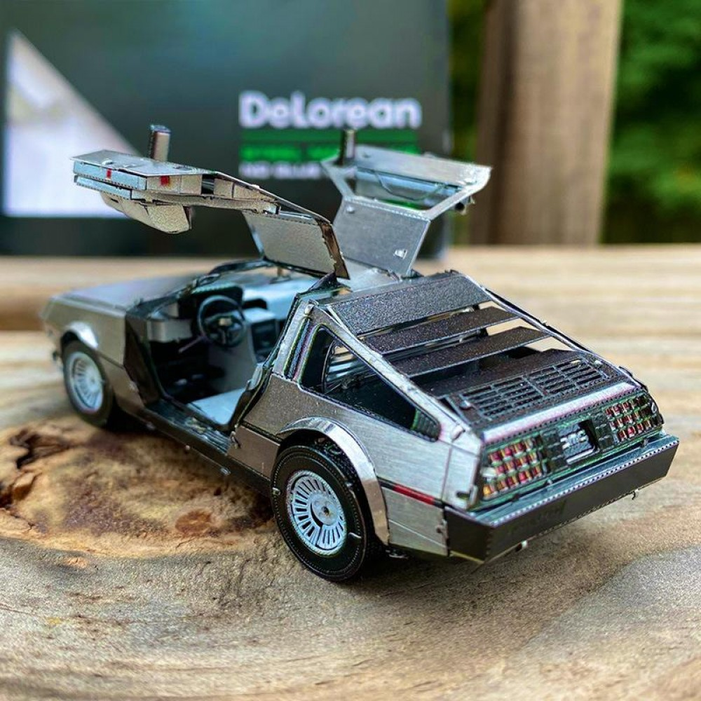 3D конструктор металлический Aipin Delorean S054