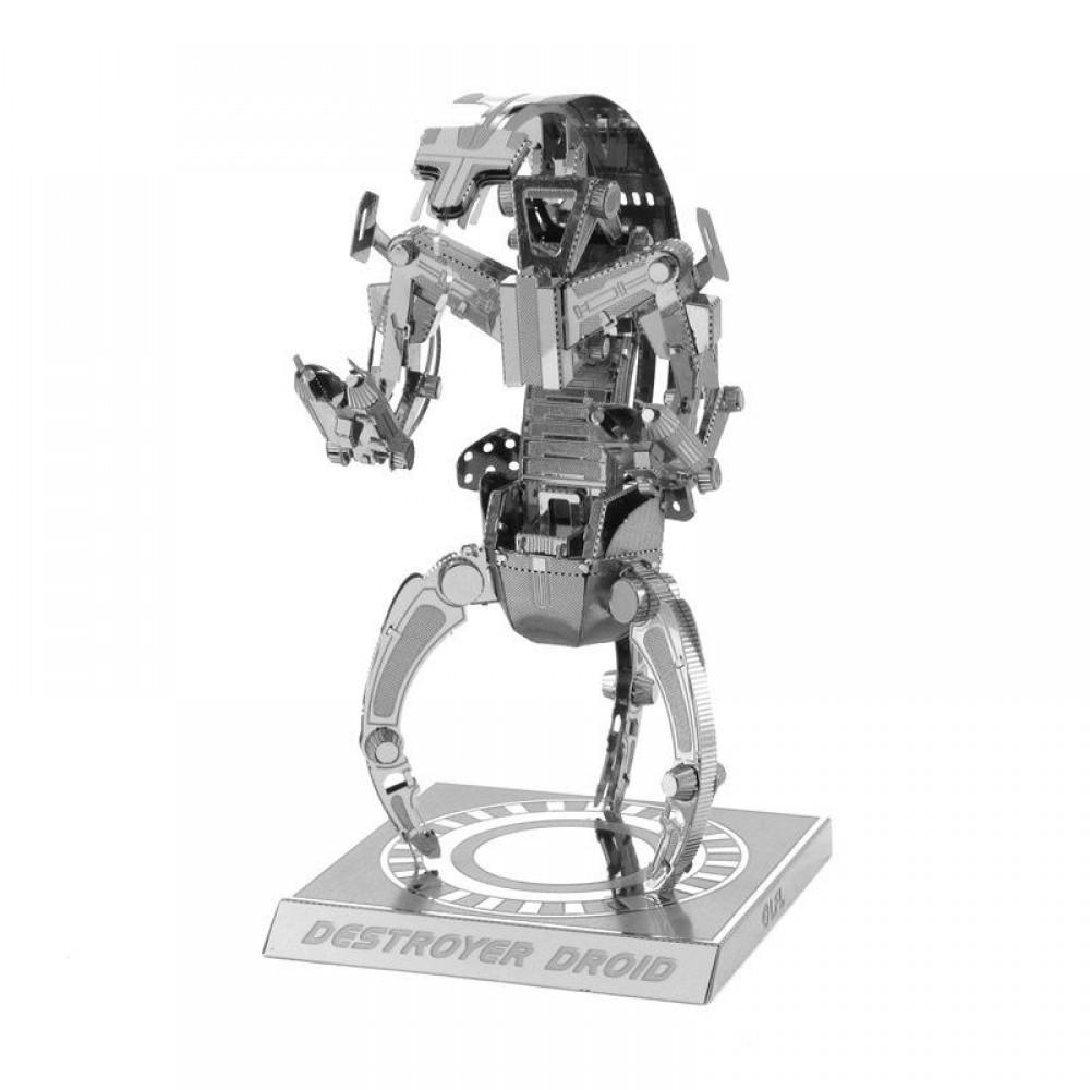3D конструктор металлический Aipin Star Wars Destroyer Droid