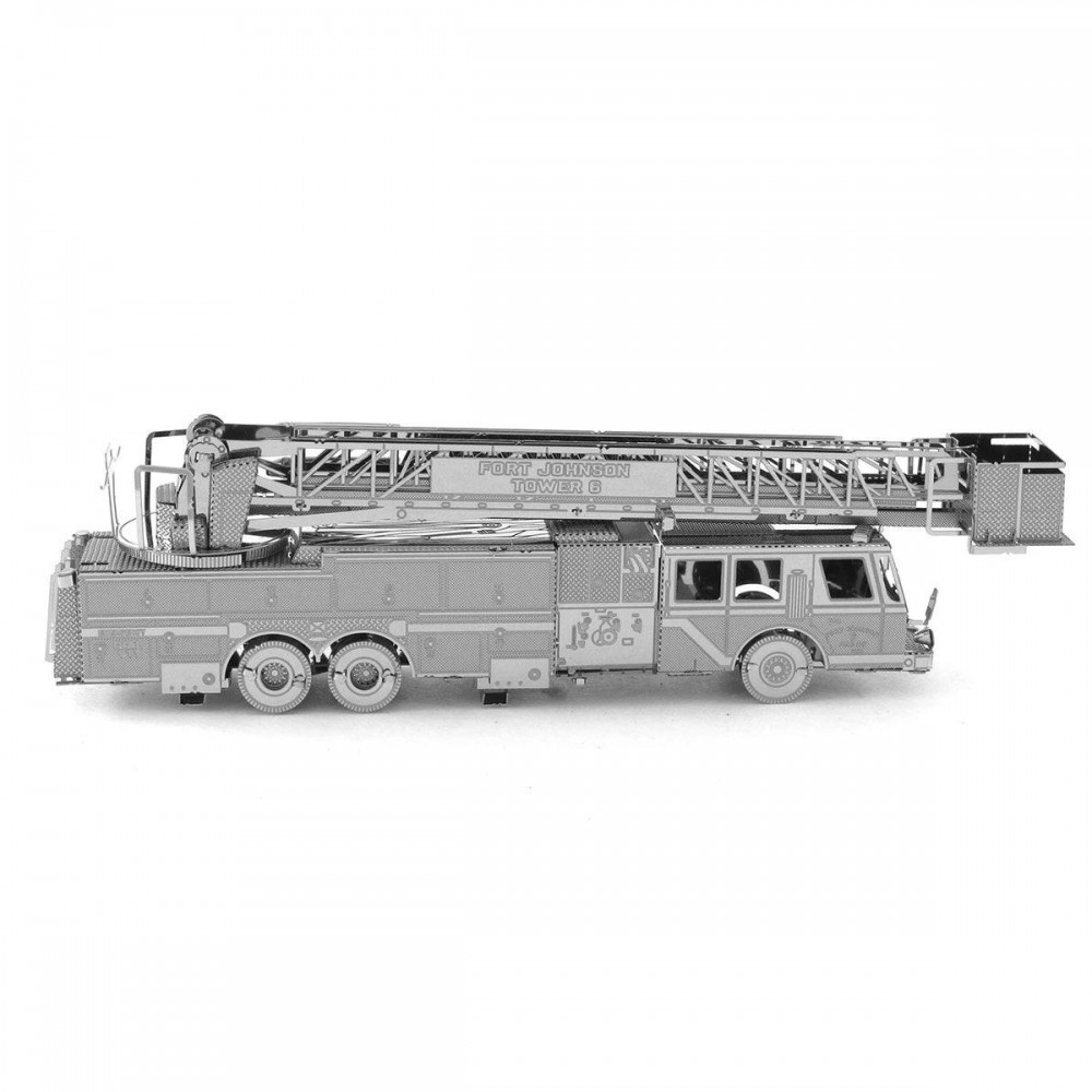 3D конструктор металлический Aipin Fire Engine