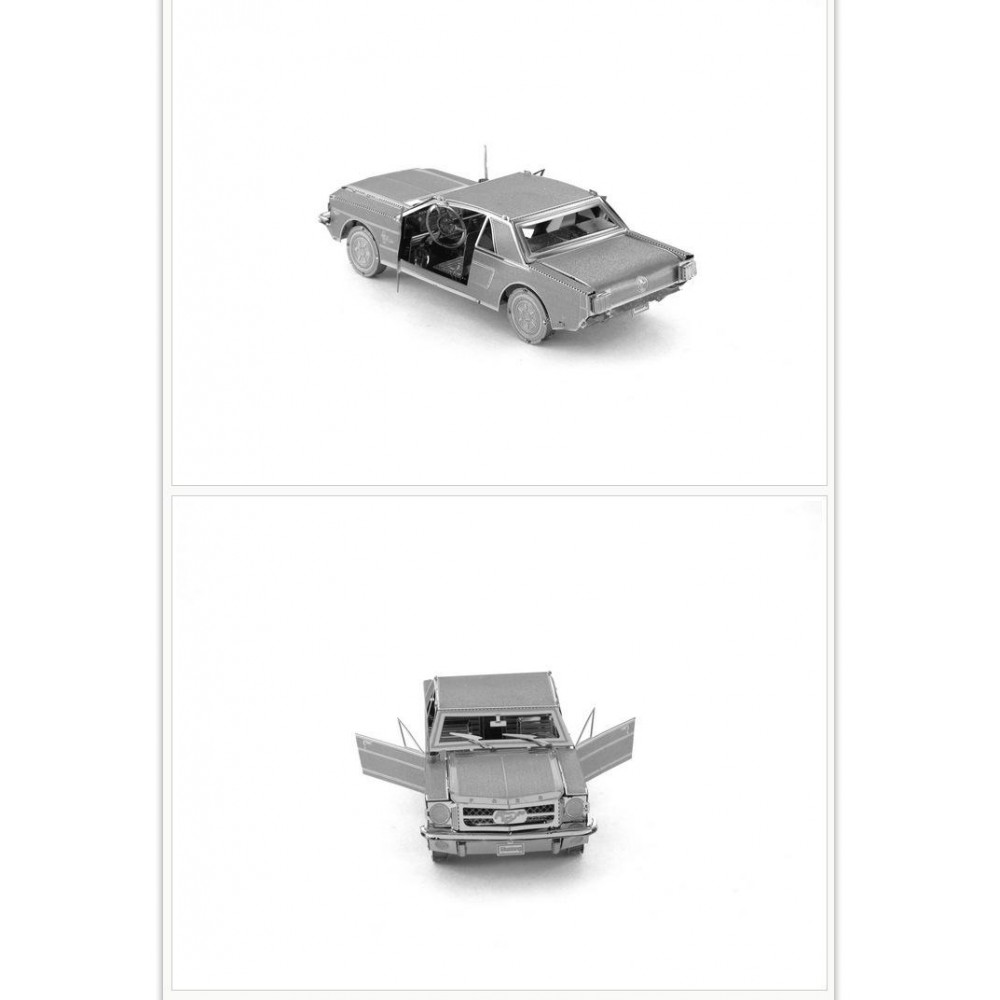 3D конструктор металлический Aipin Ford Mustang