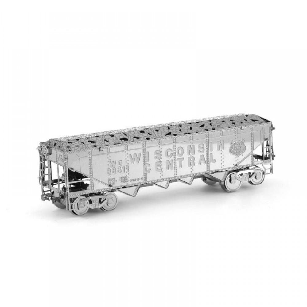 3D конструктор металлический Aipin Freigh Train Set
