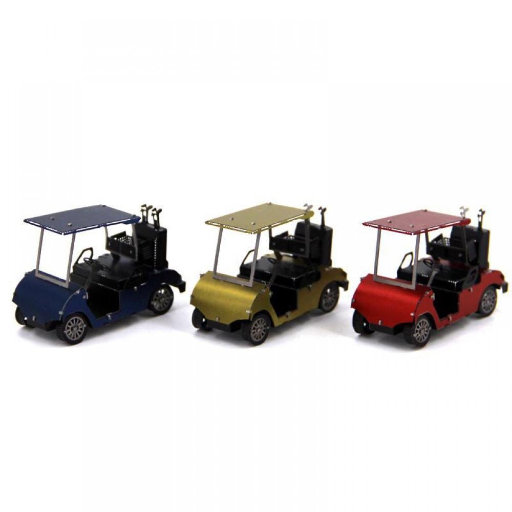 3D конструктор металлический Aipin Golf Cart Set