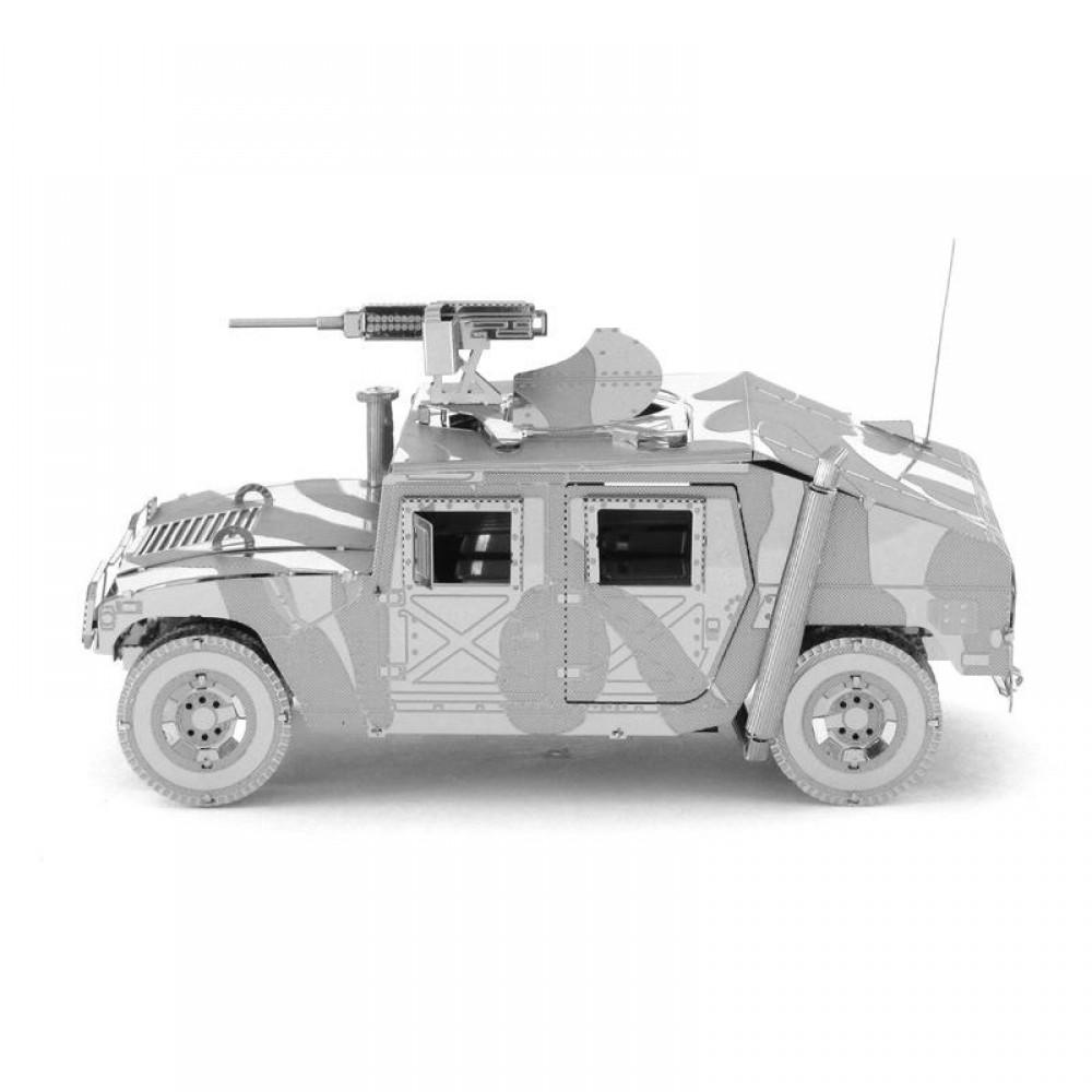 3D конструктор металлический Aipin Hummer OFF-Road Jeep