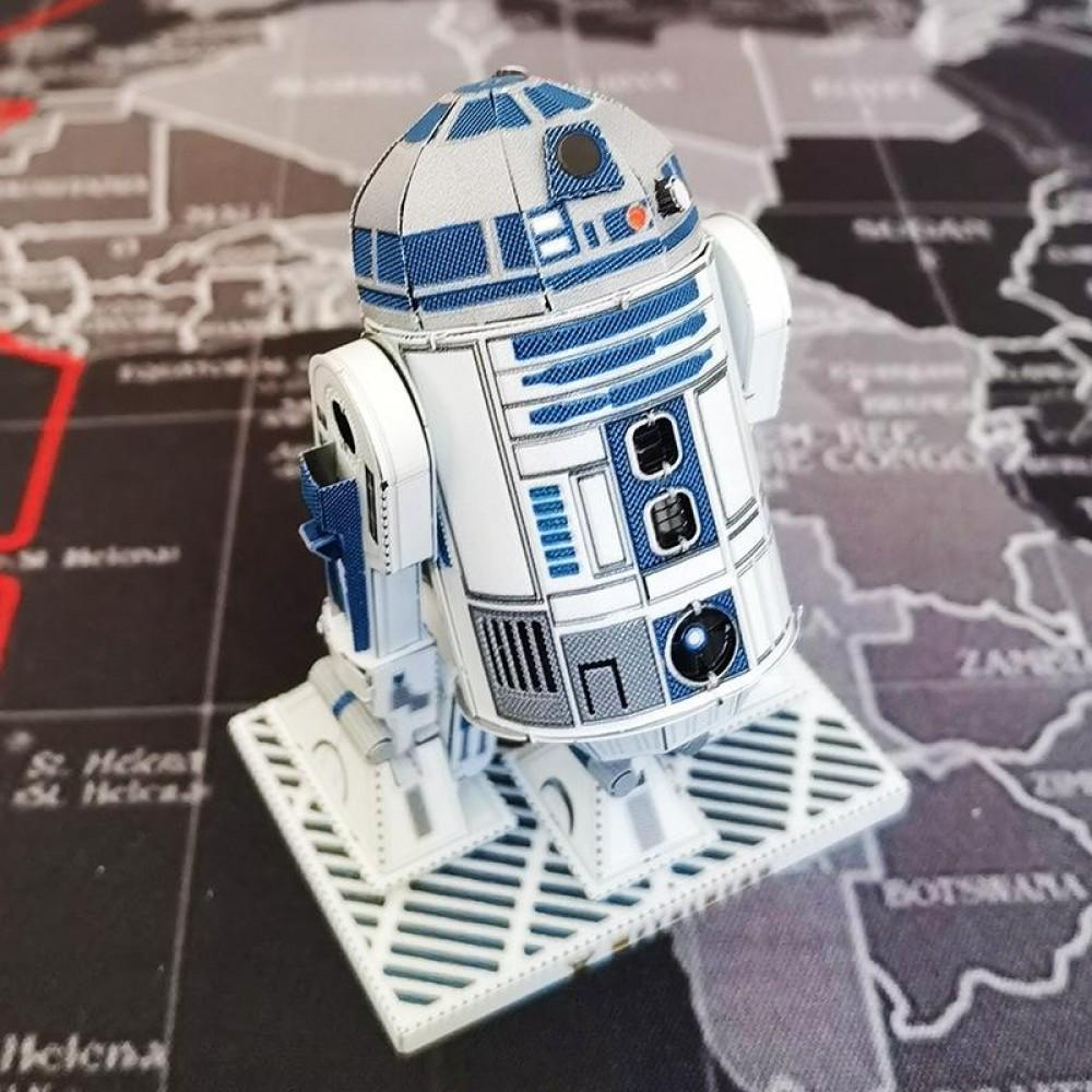 3D конструктор металлический Aipin ICONX Star Wars R2-D2 Color