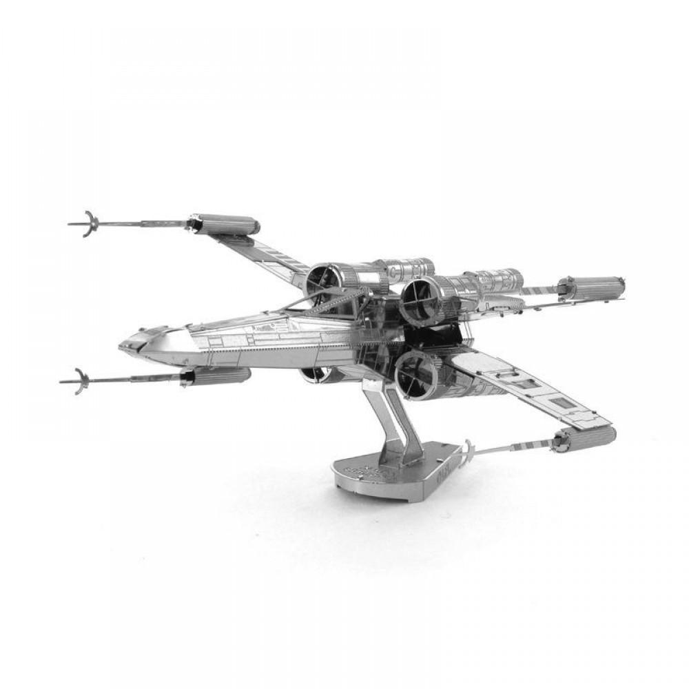 3D конструктор металлический Aipin Истребитель X-Wing