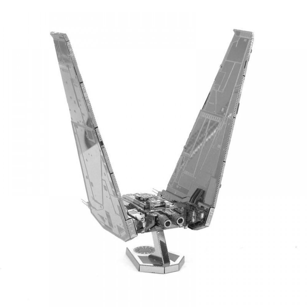 3D конструктор металлический Aipin Командный корабль