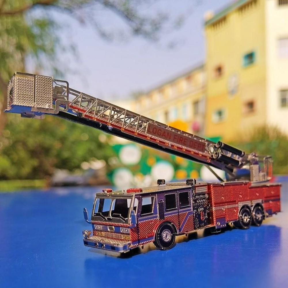 3D конструктор металлический Aipin Logan Fire Dept S023